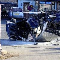 Pair sentenced over stolen Audi crash on Crumlin Road