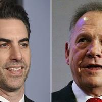 Sacha Baron Cohen asks judge to dismiss Roy Moore lawsuit
