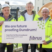 Fibrus begins major full-fibre broadband roll-out in Northern Ireland - helped by Patrick Kielty