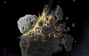 Asteroid collision could provide clues on tackling global warming – study