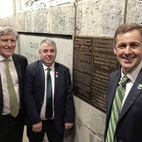 1916 Rising plaque unveiled at Washington Monument