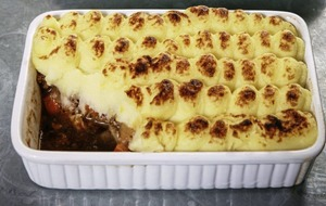 James Street Cookery School: Shepherd's pie and apple and plum crumble