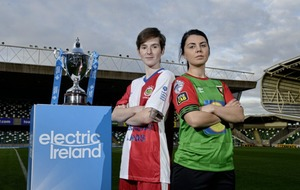 Kirsty McGuinness has eyes set on soccer and Gaelic football honours