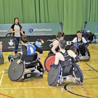 Ulster Barbarians host multi-nations wheelchair rugby event