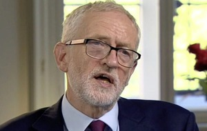 Jeremy Corbyn clarifies support for backstop