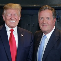 Piers Morgan denies letting Donald Trump off the hook in interviews