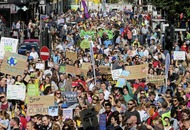 Thousands turn out across Ireland for global climate strike