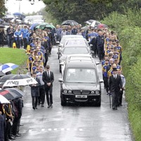 Talented young footballer Niall Laverty (19) remembered at funeral as a 'precious gem'
