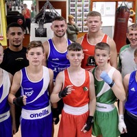 Seconds Out: Caoimhin Agyarko and Sean McComb back in amateur action at Holy Trinity show