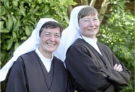 Martina Purdy and Elaine Kelly leave convent of Adoration Sisters