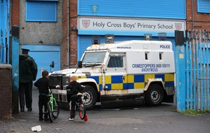 Holy Cross: Improvised weapon linked to dissident republicans found at school