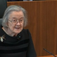 Lady Hale's spider brooch becomes social media star after Supreme Court ruling