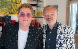 Sir Elton John in 'frank and fearless' TV interview with Graham Norton