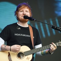Sheeran takes up the brushes