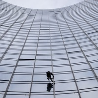 'French Spiderman' arrested after high-rise feat in Frankfurt