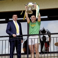 Dunloy boss Gregory O'Kane heaps praise on players and management team after winning county title