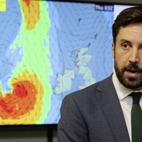 Yellow weather warning issued for Northern Ireland as Storm Lorenzo arrives
