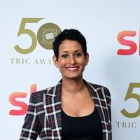 Naga Munchetty returns to work on BBC Breakfast