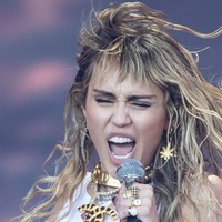 Miley Cyrus 'inspired' as she returns to the studio