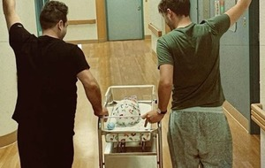 Westlife star and fiance become fathers for the first time