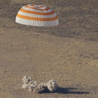 Astronauts return safely to Earth after flight from International Space Station