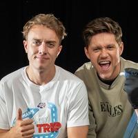 Niall Horan makes major error as he tattoos Roman Kemp's leg for charity