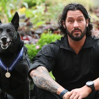 Dog who stopped White House intruder given 'animal OBE'