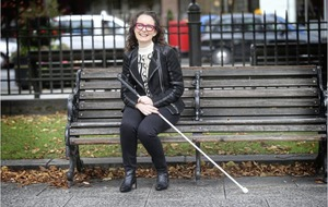 Andrea Begley: I try not to let my sight loss get too much in the way