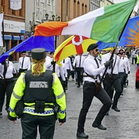Police investigating breaches of Parades Commission determinations during Saoradh hunger strike rally in Newry