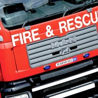 Fire at grain shed in Foyle Port