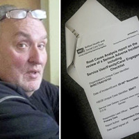 'Hidden' NHS review reveals killing of 'gentle giant' by mentally ill neighbour was preventable