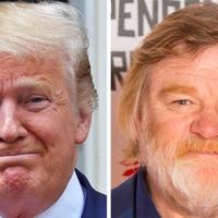 Brendan Gleeson takes on 'acting challenge' – playing Donald Trump