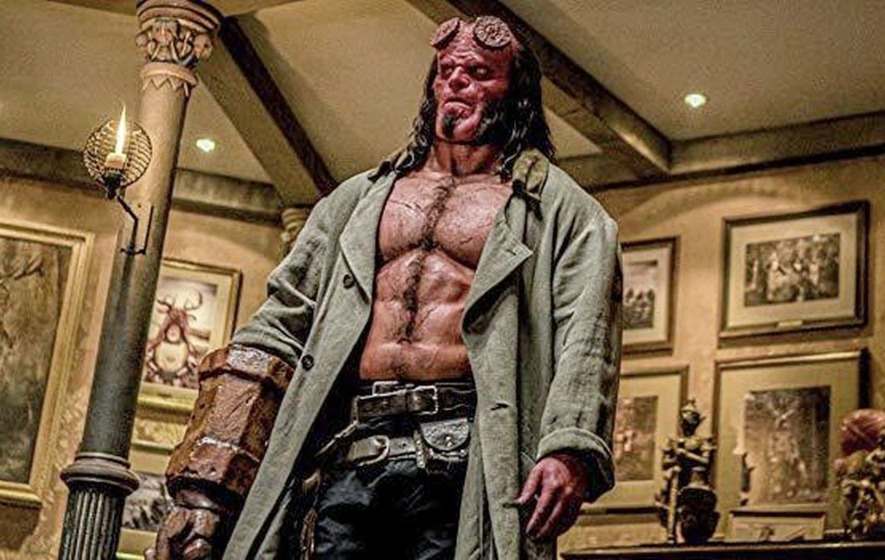 Cult Movie: Latest Hellboy reboot not so bad after all when viewed on small screen
