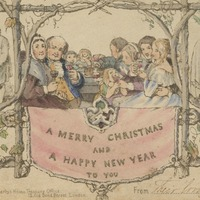 World's first Christmas card to go on display at Charles Dickens Museum