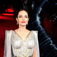 Angelina Jolie sparkles in silver at Maleficent: Mistress Of Evil premiere