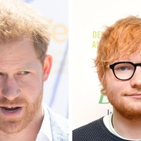 Harry and Ed Sheeran filming together ahead of World Mental Health Day