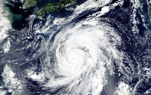 Super typhoon on track to hit central and eastern regions of Japan