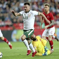 Striker Scott Hogan shocked to be still in Republic of Ireland squad