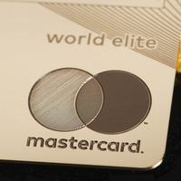 For shoppers with a taste for luxury – a solid gold debit card