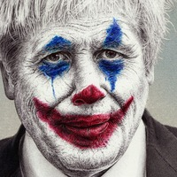 Boris Johnson turns into The Joker in new artwork