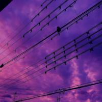 Skies above Japan turned purple in the hours before Typhoon Hagibis hit