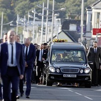 Hundreds pay last respects at funeral of Down GAA 'legend' Eamonn Burns