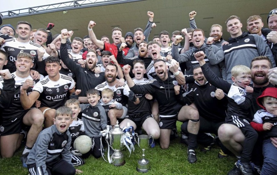 Back to black: Kilcoo return to Down throne after edging out Warrenpoint