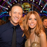 Stacey Dooley gives fans a glimpse of Kevin Clifton's birthday celebration