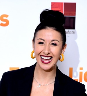 Hayley Tamaddon, 42, welcomes 'perfect' first child