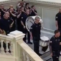 Belfast council chiefs to investigate loyalist flute band footage from inside city hall