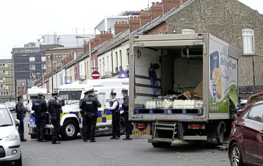 Man who caused mayhem in stolen milk lorry jailed for 18 months