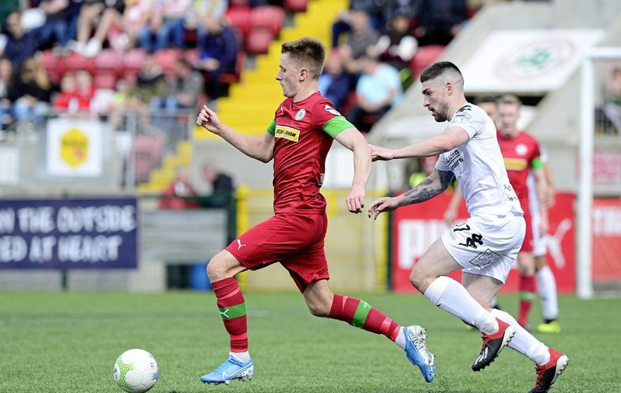 Cliftonville & Linfield to play first of two quarter-finals in a fortnight
