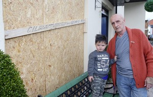 Father fears son (4) will be orphaned after escalating sectarian attacks on home