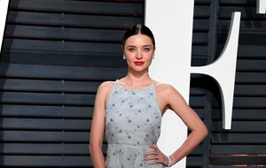 Model Miranda Kerr 'overjoyed' after giving birth